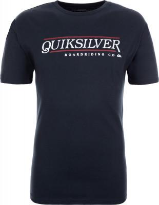 Футболка мужская Quiksilver, размер 48-50Surf Style <br>Футболка quiksilver для пляжного отдыха и жарких летних дней. Свобода движений классический крой для свободы и естественности движений.