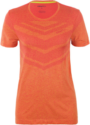 Футболка женская Craft Breakaway ComfortЖенская футболка для бега из приятной на ощупь ткани. Отведение влаги технологичная ткань обладает отличными влагоотводящими свойствами.<br>Пол: Женский; Возраст: Взрослые; Вид спорта: Бег; Покрой: Прямой; Плоские швы: Да; Дополнительная вентиляция: Есть; Производитель: Craft; Артикул производителя: 1905468; Страна производства: Китай; Материалы: 100 % полиэстер; Размер RU: 44-46;