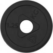 Блин Torneo стальной обрезиненный 1,25 кг