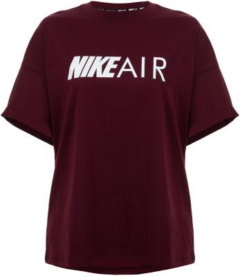 Футболка женская Nike Air, размер 40-42Футболки<br>Свободная футболка nike air - универсальное завершение спортивного образа.