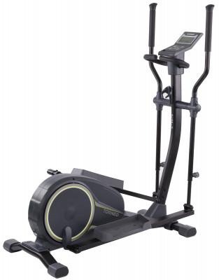 Torneo Stella C-507GЭффективный эллиптический тренажер для укрепления мышц ног, ягодиц, спины, а также рук, брюшного пресса и плечевого пояса поможет достичь желаемых результатов, не выходя из<br>Система нагружения: Магнитная; Масса маховика: 12 кг; Регулировка нагрузки: Электронная; Нагрузка: 24 уровня; Длина шага: 400 мм; Измерение пульса: Датчики на поручнях; Питание тренажера: Сеть: 220В; Максимальный вес пользователя: 130 кг; Время тренировки: Да; Скорость: Да; Пройденная дистанция: Да; Уровень нагрузки: Да; Скорость вращения педалей: Да; Израсходованные калории: Да; Отображение профиля величины нагрузки: Да; Температура в помещении: Да; Пульс: Да; Хранение данных о пользователях: 4 пользователя; Контроль за верхним пределом пульса: Да; Целевые тренировки (CountDown): Да; Дополнительные функции: Фитнес-тест, жироанализатор, более 100 программ случайного выбора, температура в помещении; Общее количество тренировочных программ: 23; Пульсозависимые программы: 4; Пользовательские программы: 4; Подставка для аксессуаров: Держатель для бутылки, подставка для книги; Транспортировочные ролики: Да; Компенсаторы неровности пола: Да; Дополнительно: Регулировка положения педалей (3 позиции); Размеры (дл х шир х выс), см: 136 х 60 х 155; Вес, кг: 50; Вид спорта: Кардиотренировки; Технологии: EverProof, ExaMotion, InstaRun, SmartStart, Stabilita; Производитель: Torneo; Артикул производителя: C-507G; Срок гарантии: 2 года; Страна производства: Китай; Размер RU: Без размера;