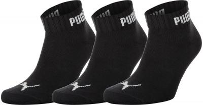 Носки Puma Quarter-V, 3 пары, размер 35-38