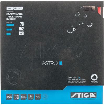 Накладка Stiga Airoc Astro M 2,1 ммОптимизирована, чтобы чувствовать приходящий мяч различной силы. Идеальная накладка для игрока атакующего стиля, которому нужны скорость, вращение и чувство мяча.<br>Скорость: 152; Контроль: 78; Вращение: 128; Тип накладки: Гладкая; Вид спорта: Настольный теннис; Производитель: Stiga; Артикул производителя: 1703-0705-21; Срок гарантии: 2 года; Страна производства: Япония; Размер RU: Без размера;