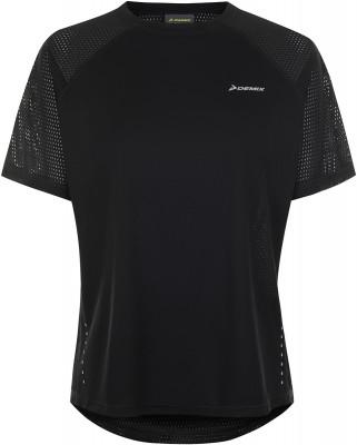 Фото - Футболку женская Demix, размер 44 черного цвета