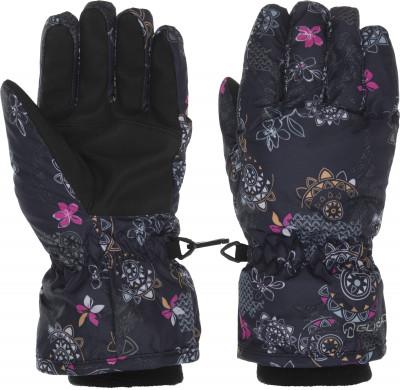 Перчатки для девочек Glissade, размер 6