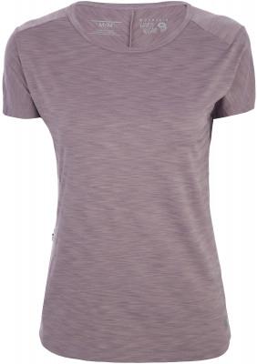 Футболка женская Mountain Hardwear Mighty Stripe, размер 42Футболки<br>Футболка mighty stripe от mhw из легкой воздухопроницаемой ткани станет отличным выбором для походов.