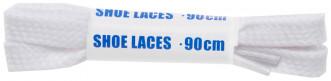 Шнурки белые плоские Woly Sport, 90 см