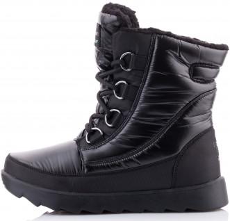 2cf43bd1e Сапоги утепленные женские Skechers черный цвет — купить за 5599 руб ...