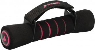 Гантели для фитнеса с фиксатором Demix, 2х0,75 кг