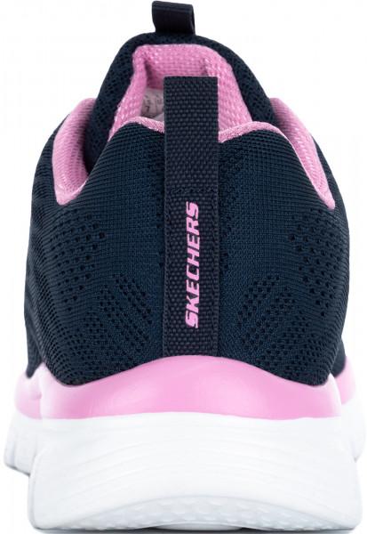 b225f438 Кроссовки женские Skechers Graceful-Get Connected синий/розовый цвет —  купить за 3799 руб. в интернет-магазине Спортмастер