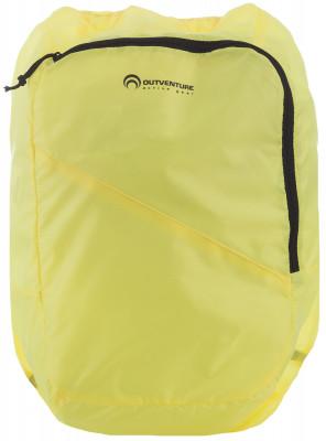 Outventure Folding 14Легкие и невероятно компактный спортивный рюкзак от outventure. Вместимость объем модели составляет 14 литров.<br>Объем: 14; Вес, кг: 0,2; Размеры (дл х шир х выс), см: 43 x 28 x 10; Материал верха: 100 % полиэстер; Материал подкладки: 100 % полиэстер; Вид спорта: Походы; Срок гарантии: 2 года; Производитель: Outventure; Артикул производителя: B003G2; Страна производства: Китай; Размер RU: Без размера;
