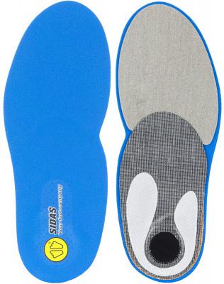 Стельки Sidas Custom RunСтелька для бега custom run обеспечивает идеальную посадку ноги в беговой обуви и максимальный комфорт.<br>Пол: Мужской; Возраст: Взрослые; Вид спорта: Бег; Технологии: Custom; Производитель: Sidas; Артикул производителя: CSECURUN12_03; Материалы: Полиэстер, пена ЭВА, гель, синтетика; Размер RU: 39-41;