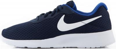 Кроссовки мужские Nike TanjunПо-японски tanjun значит простота.<br>Пол: Мужской; Возраст: Взрослые; Вид спорта: Спортивный стиль; Способ застегивания: Шнуровка; Материал верха: 100 % текстиль; Материал подкладки: 100 % текстиль; Материал стельки: 100 % текстиль; Материал подошвы: 100 % пластик; Производитель: Nike; Артикул производителя: 812654-414; Страна производства: Индонезия; Размер RU: 43,5;