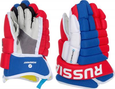 Перчатки хоккейные детские NordwayХоккейная защита <br>Хоккейные перчатки надежно защищают руки и нижнюю часть предплечье спортсмена во время игр и тренировок.