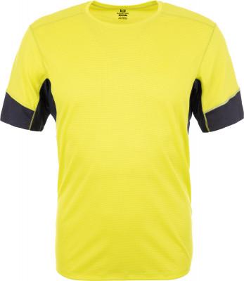 Футболка мужская Salomon Agile, размер 52-54Мужская одежда<br>Легкая и функциональная футболка для занятий бегом salomon agile ss. Отведение влаги ткань advancedskin activedry эффективно отводит влагу и сохраняет кожу сухой.