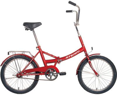 Велосипед складной Stern Travel 20Компактный велосипед с небольшими 20-дюймовыми колесами подойдет для комфортного катания в городе. Модель подойдет как взрослому, так и подростку.<br>Материал рамы: Сталь; Амортизация: Rigid; Конструкция рулевой колонки: Неинтегрированная; Складная конструкция: Да; Размер в сложенном виде (дл. х шир. х выс), см: 77 x 64 x 10,8; Конструкция вилки: Жесткая; Конструкция педалей: Классические; Тип заднего тормоза: Ножной; Диаметр колеса: 20; Тип обода: Одинарный; Материал обода: Алюминий; Наименование покрышек: WANDA P1024, 24x1,95; Конструкция руля: Изогнутый; Регулировка руля: Есть; Регулировка седла: Есть; Сезон: 2017; Максимальный вес пользователя: 100 кг; Вид спорта: Велоспорт; Технологии: Hi-ten steel; Производитель: Stern; Артикул производителя: 13TRV20ME; Срок гарантии: 2 года; Вес, кг: 16,7; Страна производства: Россия; Размер RU: Без размера;