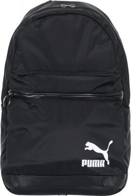 Рюкзак Puma OriginalsКлассический рюкзак в спортивном стиле от puma. Устойчивость к износу внутренняя отделка выполнена из эластичного полиэстера.<br>Пол: Мужской; Возраст: Взрослые; Вид спорта: Спортивный стиль; Объем: 26 л; Размеры (дл х шир х выс), см: 30 x 47 x 16; Водоотталкивающая пропитка: Нет; Количество карманов: 2; Выход для наушников: Нет; Отделение для ноутбука: Да; Количество отделений: 1; Материал верха: 100 % полиэстер; Производитель: Puma; Артикул производителя: 075086; Страна производства: Вьетнам; Размер RU: Без размера;