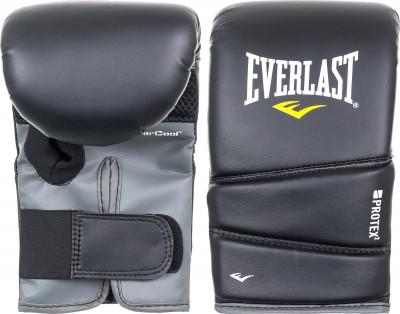 Перчатки снарядные Everlast Protex2Легкие, удобные снарядные перчатки. Пенный наполнитель. Удобная фиксация с помощью липучек. Изготовлены из искусственной кожи. Размеры: s-m (7-8), l-xl (14-16).<br>Тип фиксации: Липучка; Материал верха: Искусственная кожа; Вид спорта: Бокс; Технологии: EverDri; Производитель: Everlast; Артикул производителя: 4311LXLU; Срок гарантии: 14 дней; Страна производства: Китай; Размер RU: L-XL;