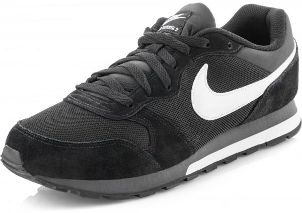8de1b298 Кроссовки мужские Nike MD Runner 2 черный цвет — купить за 5299 руб. в  интернет-магазине Спортмастер
