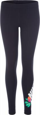 Легинсы для девочек Nike Sportswear, размер 146-156Брюки <br>Легинсы для девочек от nike для образа в спортивном стиле. Натуральные материалы ткань выполнена из натурального хлопка с небольшим добавлением спандекса.
