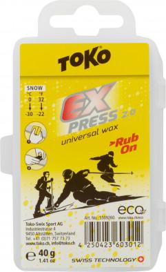 Мазь скольжения TOKO Express Rub-On 40 г 0 °C — -30 °C