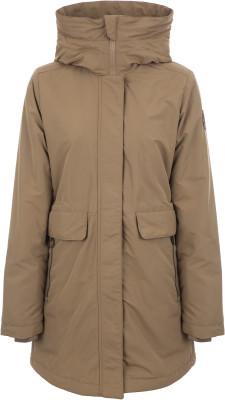 Куртка утепленная женская Outventure, размер 50Куртки <br>Женская куртка от outventure предназначена для долгих прогулок и путешествий. Свобода движений продуманный крой позволяет двигаться легко и свободно.