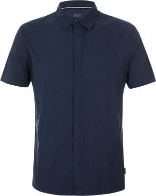 Рубашка мужская JACK WOLFSKIN, размер 54-56Рубашки<br>Удобная туристическая рубашка от jack wolfskin. Отведение влаги технология quick moisture control обеспечивает эффективный влагоотвод и комфортный микроклимат.