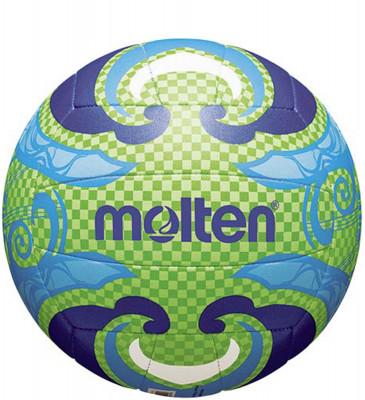 Мяч волейбольный MoltenМяч для пляжного волейбола: изготовлен из тонкой синтетической кожи для мягкого контакта с рукой; машинное шитье.<br>Сезон: 2015; Возраст: Взрослые; Вид спорта: Волейбол; Тип поверхности: Для пляжа; Назначение: Тренировочные; Материал покрышки: Синтетическая кожа; Материал камеры: Бутил; Способ соединения панелей: Машинная сшивка; Количество панелей: 18; Вес, кг: 0,28; Производитель: Molten; Артикул производителя: V5B1502-L; Срок гарантии: 2 года; Страна производства: Китай; Размер RU: 5;