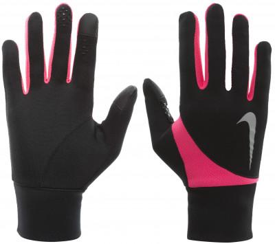 Перчатки женские Nike Dri-Fit Tailwind RunТехнологичные женские перчатки подойдут для пробежек на свежем воздухе.<br>Пол: Женский; Возраст: Взрослые; Вид спорта: Бег; Технологии: Nike Dri-FIT; Производитель: Nike; Артикул производителя: N.RG.A3-091; Страна производства: Китай; Материалы: 98% полиэстер, 2% полиуретан; Размер RU: 6;