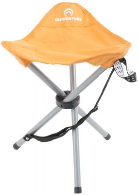 Стул OutventureПопулярный складной туристический стул на 3 ножках идеально подойдет для любого вида отдыха на свежем воздухе.<br>Максимальная нагрузка, кг: 100; Размер в рабочем состоянии (дл. х шир. х выс), см: 43 х 34 х 36; Размер в сложенном виде (дл. х шир. х выс), см: 56,5 х 6,5; Вес, кг: 0,8; Материал каркаса: Сталь; Материал сидушки: Полиэстер; Вид спорта: Кемпинг; Производитель: Outventure; Срок гарантии: 2 года; Размер RU: Без размера;
