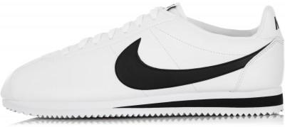Кроссовки мужские Nike Classic Cortez LeatherЛегкие мужские кроссовки nike classic cortez leather - это классический беговой дизайн, который эффектно завершит ваш образ.<br>Пол: Мужской; Возраст: Взрослые; Вид спорта: Спортивный стиль; Способ застегивания: Шнуровка; Материал верха: 78 % кожа, 22 % синтетическая кожа; Материал подкладки: 100 % текстиль; Материал подошвы: 100 % резина; Производитель: Nike; Артикул производителя: 749571-100; Страна производства: Индонезия; Размер RU: 41;
