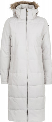 Пальто утепленное женское IcePeak TiinaУтепленное пальто icepeak tiina подходит для путешествий и активного отдыха.<br>Пол: Женский; Возраст: Взрослые; Вид спорта: Путешествие; Вес утеплителя на м2: 249 г/м2; Длина по спинке: 110 см; Водонепроницаемость: 5000 мм; Паропроницаемость: 2000 г/м2/24 ч; Температурный режим: До -25; Покрой: Прямой; Дополнительная вентиляция: Нет; Проклеенные швы: Нет; Длина куртки: Длинная; Капюшон: Отстегивается; Мех: Искусственный; Количество карманов: 3; Водонепроницаемые молнии: Нет; Технологии: Icemax 5000/2000, Reflectors, Super Soft Touch, Water Repellent; Производитель: IcePeak; Артикул производителя: 53054532IV; Страна производства: Китай; Материал верха: 100 % полиэстер; Материал подкладки: 100 % полиэстер; Материал утеплителя: 100 % полиэстер; Размер RU: 42;