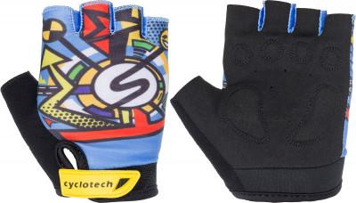 Перчатки велосипедные детские Cyclotech UrbanДетские велосипедные перчатки не дают рукам скользить на руле.<br>Возраст: Дети; Пол: Мужской; Размер: 5.5; Материал верха: 45 % искусственная кожа, 45 % эластан, 10 % неопрен; Производитель: Cyclotech; Артикул производителя: U.kid-XS; Страна производства: Пакистан; Размер RU: 5.5;
