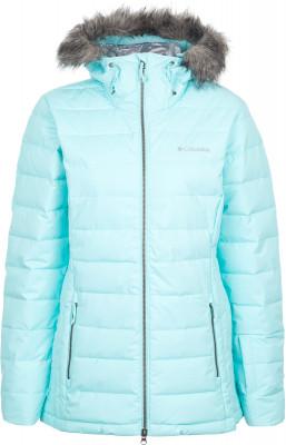 Куртка утепленная женская Columbia Ash MeadowsЖенская горнолыжная куртка от columbia. Защита от влаги модель выполнена из ткани с водонепроницаемым покрытием.<br>Пол: Женский; Возраст: Взрослые; Вид спорта: Горные лыжи; Наличие мембраны: Нет; Регулируемые манжеты: Нет; Внутренняя манжета: Да; Покрой: Приталенный; Дополнительная вентиляция: Нет; Длина куртки: Средняя; Датчик спасательной системы: Нет; Наличие карманов: Да; Капюшон: Не отстегивается; Мех: Искусственный; Снегозащитная юбка: Нет; Количество карманов: 4; Карман для маски: Нет; Карман для Ski-pass: Да; Артикулируемые локти: Нет; Совместимость со шлемом: Нет; Материал верха: 100 % нейлон; Материал подкладки: 100 % полиэстер; Материал утеплителя: 100 % полиэстер; Технологии: Omni-Heat; Производитель: Columbia; Артикул производителя: 1780471470XS; Страна производства: Бангладеш; Размер RU: 42;