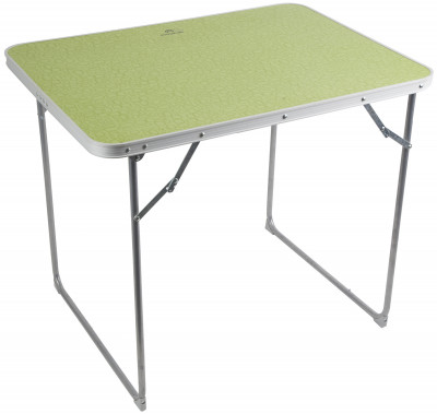 Стол OutventureПрактичный складной стол для кемпинга. В сложенном виде занимает совсем немного места, а в разложенном позволяет с удобством приготовить пищу.<br>Максимальная нагрузка, кг: 25 кг; Размер в рабочем состоянии (дл. х шир. х выс), см: 80 х 60 х 79; Размер в сложенном виде (дл. х шир. х выс), см: 63 х 23 х 82; Материал каркаса: Сталь; Материал столешницы (для столов): МДФ; Вес, кг: 3,5; Вид спорта: Кемпинг; Производитель: Outventure; Артикул производителя: IE419G2; Срок гарантии: 2 года; Страна производства: Китай; Размер RU: Без размера;