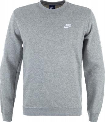 Джемпер мужской Nike SportswearКлассический джемпер в спортивном стиле от nike завершит ваш образ. Натуральные материалы в составе ткани преобладает натуральный хлопок.<br>Пол: Мужской; Возраст: Взрослые; Вид спорта: Спортивный стиль; Покрой: Прямой; Капюшон: Отсутствует; Производитель: Nike; Артикул производителя: 804342-063; Страна производства: Камбоджа; Материал верха: 80 % хлопок, 20 % полиэстер; Размер RU: 44-46;