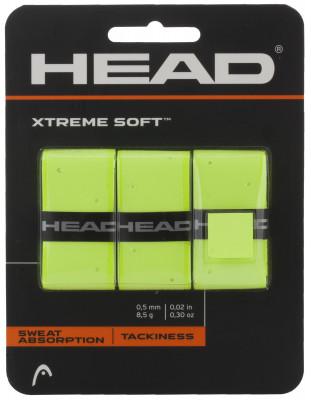 Намотка верхняя Head XtremeSoftЛипкая верхняя намотка head xtremesoft с дополнительной перфорацией обеспечивает комфорт и отлично впитывает влагу.<br>Материалы: Внутренний слой - нетканый материал, внешний слой - полиуретан; Вид спорта: Теннис; Производитель: Head; Артикул производителя: 285104; Срок гарантии: 1 год; Страна производства: Китай; Размер RU: Без размера;
