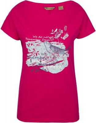 Футболка женская Outventure, размер 44Футболки<br>Женская футболка от outventure отлично подойдет для прогулок и путешествий. Натуральные материалы модель выполнена из натурального воздухопроницаемого хлопка.