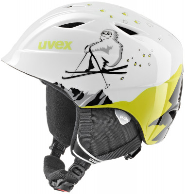 Шлем детский Uvex Airwing 2Детский шлем uvex airwing 2 обеспечит максимальный комфорт на склоне. В модели предусмотрены система вентиляции, съемная защита ушей и фиксатор стрэпа маски.<br>Пол: Мужской; Возраст: Дети; Вид спорта: Горные лыжи; Конструкция: In-mould; Вентиляция: Принудительная; Сертификация: EN 1077 B; Регулировка размера: Есть; Тип регулировки размера: Поворотное кольцо; Материал внешней раковины: Поликарбонат; Материал внутренней раковины: Пенополистирол; Материал подкладки: Полиэстер; Технологии: IAS; Производитель: Uvex; Артикул производителя: S5661321600; Срок гарантии: 2 года; Страна производства: Китай; Размер RU: 51-52;