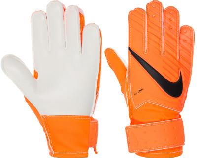 Перчатки вратарские детские Nike Match GoalkeeperДетские футбольные перчатки nike match goalkeeper позволяют удержать мяч в любую погоду: пеноматериал на основе латекса гарантирует отличное сцепление, а также смягчает удар<br>Вид спорта: Футбол; Производитель: Nike; Артикул производителя: GS0343-803; Срок гарантии: 30 дней; Страна производства: Бельгия; Размер RU: 7;