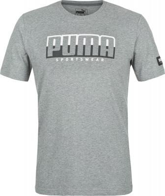 Футболка мужская Puma Athletics Tee Big Logo, размер 46-48