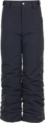 Брюки утепленные для девочек Columbia Snow DayДетские утепленные брюки с водоотталкивающей пропиткой прекрасно подойдут для путешествий и прогулок.<br>Пол: Женский; Возраст: Дети; Вид спорта: Путешествие; Вес утеплителя на м2: 100 г/м2; Водоотталкивающая пропитка: Да; Силуэт брюк: Прямой; Светоотражающие элементы: Нет; Дополнительная вентиляция: Нет; Проклеенные швы: Нет; Количество карманов: 2; Водонепроницаемые молнии: Нет; Артикулируемые колени: Нет; Производитель: Columbia; Артикул производителя: 1743201010XL; Страна производства: Вьетнам; Материал верха: 100 % нейлон; Материал подкладки: 100 % нейлон; Материал утеплителя: 100 % полиэстер; Размер RU: 160-170;