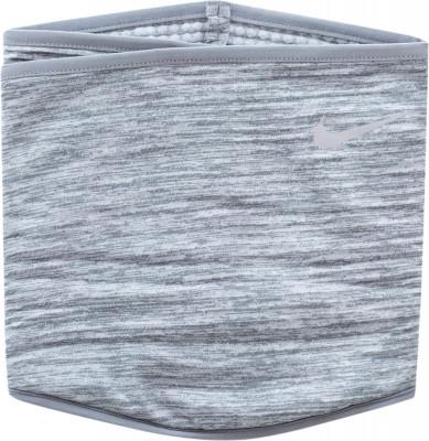 Шарф NikeШарф от nike - это лучший выбор для надежной защиты от холодного ветра во время пробежки. Практичность шарф закрывает не только горло, но и голову.<br>Пол: Мужской; Возраст: Взрослые; Вид спорта: Бег; Производитель: Nike ABM; Артикул производителя: N.RA.52-033; Страна производства: Китай; Материал верха: 96% полиэстер, 2% нейлон, 2% резина; Размер RU: L/XL;