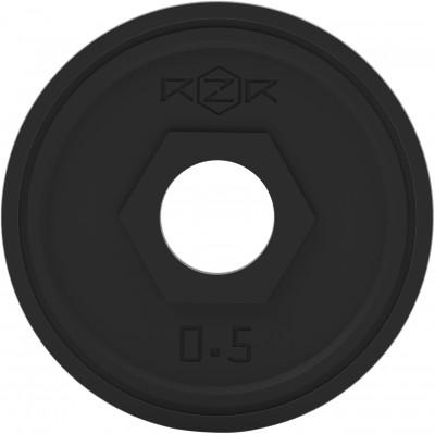 Блин стальной обрезиненный 0,5 кг RZR-R05