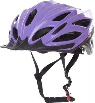 Шлем велосипедный женский CyclotechВелосипедный шлем с конструкцией glue-on.<br>Конструкция: glue-on; Вентиляция: Принудительная; Регулировка размера: Да; Тип регулировки размера: Поворотное кольцо; Материал внешней раковины: ПВХ; Материал внутренней раковины: Вспененный пенополистирол; Материал подкладки: Полиэстер; Сертификация: EN 1078; Вес, кг: 0,24; Пол: Женский; Возраст: Взрослые; Производитель: Cyclotech; Артикул производителя: CHLO-W-L; Срок гарантии: 6 месяцев; Страна производства: Китай; Размер RU: 58-62;