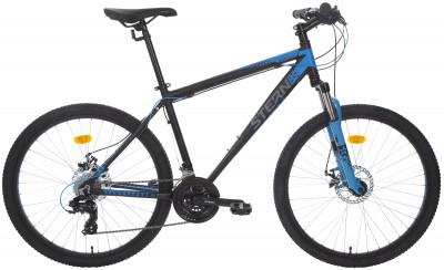 Stern Energy 2.0 26 (2018)Усовершенствованная модель горных велосипедов с дисковыми тормозами как нельзя лучше подойдет для активного отдыха.<br>Материал рамы: Алюминиевый сплав; Размер рамы: 18; Амортизация: Hard tail; Конструкция рулевой колонки: Неинтегрированная; Наименование вилки: 565D 26 1шток 28,6 мм; Конструкция вилки: Пружинно-эластомерная; Ход вилки: 80 мм; Материал педалей: Пластик; Система: Prowheel; Количество скоростей: 21; Наименование переднего переключателя: Shimano Tourney FD-TY300; Наименование заднего переключателя: Shimano TY-300; Конструкция педалей: Классические; Наименование манеток: Shimano Tourney ST-EF41, EZ-Fire; Конструкция манеток: Триггерные двурычажные; Тип переднего тормоза: Дисковый механический; Тип заднего тормоза: Дисковый механический; Материал втулок: Алюминий; Диаметр колеса: 26; Тип обода: Двойной; Материал обода: Алюминий; Наименование покрышек: Chaoyang 26 x 1,95; Материал руля: Сталь; Название шифтера: Shimano Tourney ST-EF41, EZ-Fire; Конструкция руля: Изогнутый; Регулировка руля: Да; Регулировка седла: Да; Амортизационный подседельный штырь: Нет; Сезон: 2018; Максимальный вес пользователя: 110 кг; Вид спорта: Велоспорт; Производитель: Stern; Артикул производителя: 18EN218T; Срок гарантии: 2 года; Вес, кг: 14,3; Страна производства: Россия; Размер RU: 165-175;
