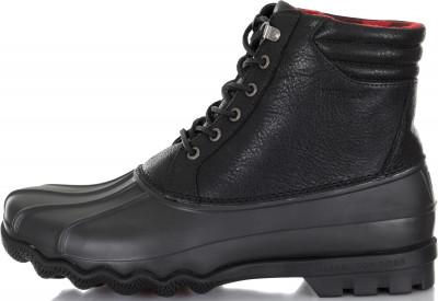 мужские ботинки sperry, черные