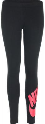 Легинсы для девочек Nike Sportswear Leg-A-SeeЛегинсы для девочек nike sportswear leg-a-see. Комфорт мягкая ткань джерси, на 92 % состоящая из натурального хлопка, приятна к телу.<br>Пол: Женский; Возраст: Дети; Вид спорта: Спортивный стиль; Силуэт брюк: Облегающий; Производитель: Nike; Артикул производителя: 851984-011; Страна производства: Вьетнам; Материал верха: 92 % хлопок, 8 % эластан; Размер RU: 128-140;