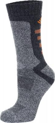 Носки мужские Columbia Explorer, 1 параВысокие носки отлично подойдут для активного времяпрепровождения на природе в холодное время года.<br>Пол: Мужской; Возраст: Взрослые; Вид спорта: Активный отдых; Плоские швы: Да; Светоотражающие элементы: Нет; Дополнительная вентиляция: Нет; Компрессионный эффект: Нет; Материалы: 78 % полиэстер, 19 % хлопок, 2 % эластан, 1 % вискоза; Производитель: Columbia Delta; Артикул производителя: RCS700M_1GRES; Страна производства: Китай; Размер RU: 35-38;