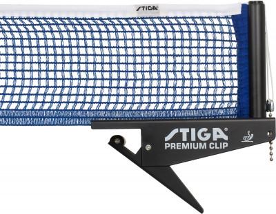 Сетка для настольного тенниса Stiga Premium ClipХлопчатобумажная сетка для настольного тенниса. Легко устанавливается и снимается благодаря системе clip (зажим). Регулируемое натяжение и высота. Одобрена ittf.<br>Состав: 80% хлопок, 10% пластик, 10% сталь; Вид спорта: Настольный теннис; Производитель: Stiga; Артикул производителя: 6390-00; Срок гарантии: 2 года; Страна производства: Китай; Размер RU: Без размера;